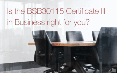 5 pros (and 2 cons) of a BSB30115 Certificate III in Business